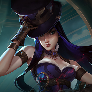 Caitlyn Jhin Counter Champion